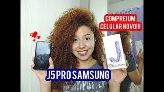 O meu novo celular J5 PRO SAMSUNG | Esteffany Marques