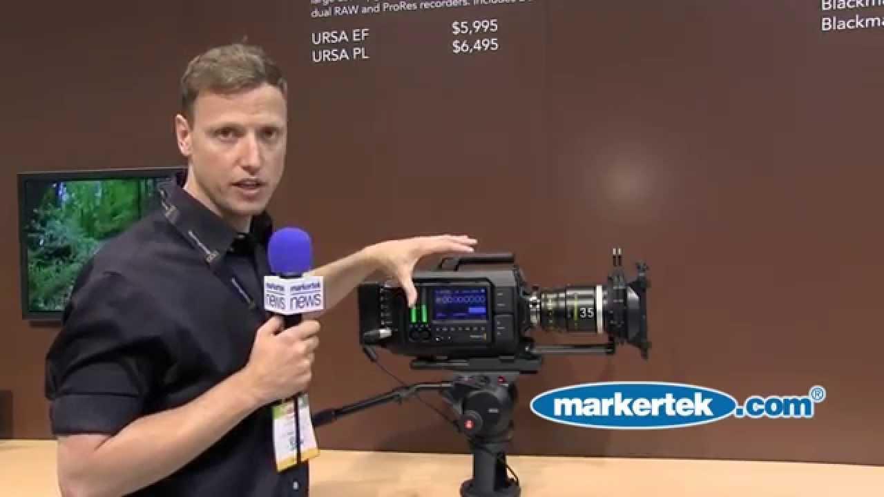Blackmagic Design Pl 4k Digital Film Camera Youtube