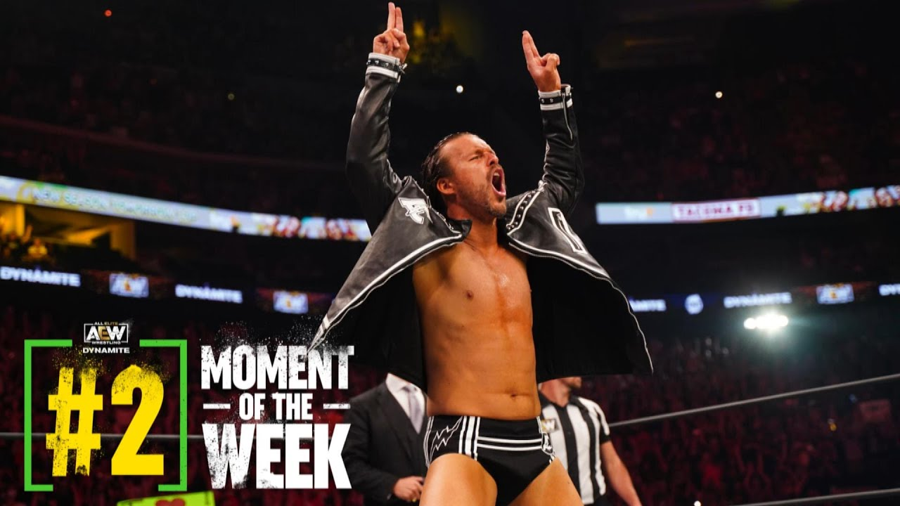 Download Adam Cole Makes his AEW In Ring Debut & the Super Kliq is Back, Bay-Bay   AEW Dynamite, 9/15/21