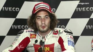 Marco simoncelli interview after the phillip island