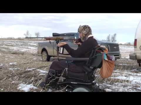 Quadriplegic Shooting 300 Magnum