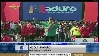Candidato Maduro realiza declaraciones sobre elecciones presidenciales