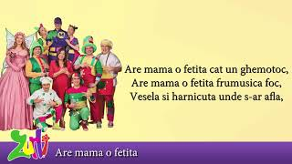 Gasca Zurli - Are mama o fetita (cu versuri - lyrics video) #zurli