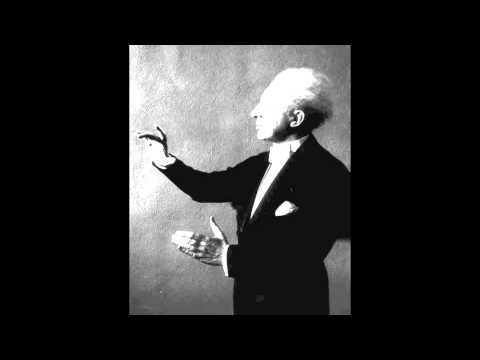 Leopold Stokowski conducts his arrangement of Debussy's Clair de Lune