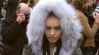Top Models Exit CHANEL Paris Fashion Week défilé Show 21 Janvier 2014