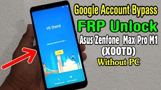 fRP! Asus ZenFone Max Pro (M1) ZB602KL Сброс аккаунта гугл. Android 9!