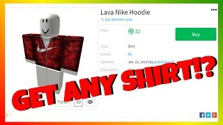 (WORKING 2019) How to get any Shirt/Pants on ROBLOX