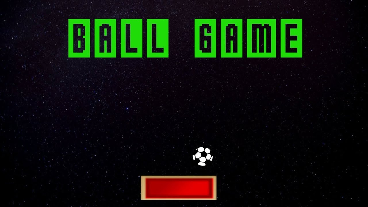 Game project :  Ball-Game using Pygame Library.