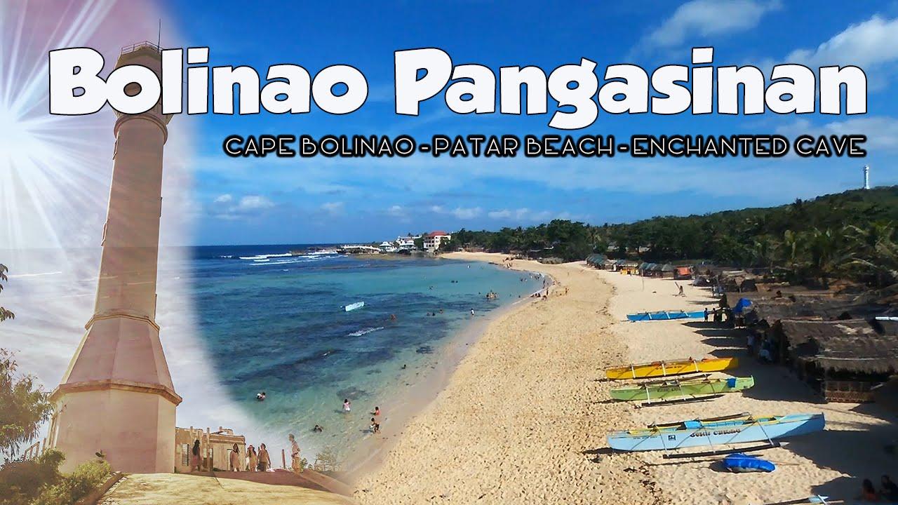 Bolinao Pangasinan Patar Beach Enchanted Cave Youtube