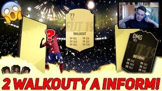 2 WALKOUTY A INFORM! NEJLEPŠÍ PACK OPENING [DR & SB REWARDS]   FIFA 19 CZ