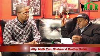 Atty  Malik Zulu Shabazz Addresses Brother Polight & The Moors