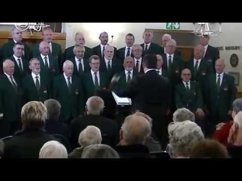 Calon Lan sung by Côr Meibion Cymru De Affrig