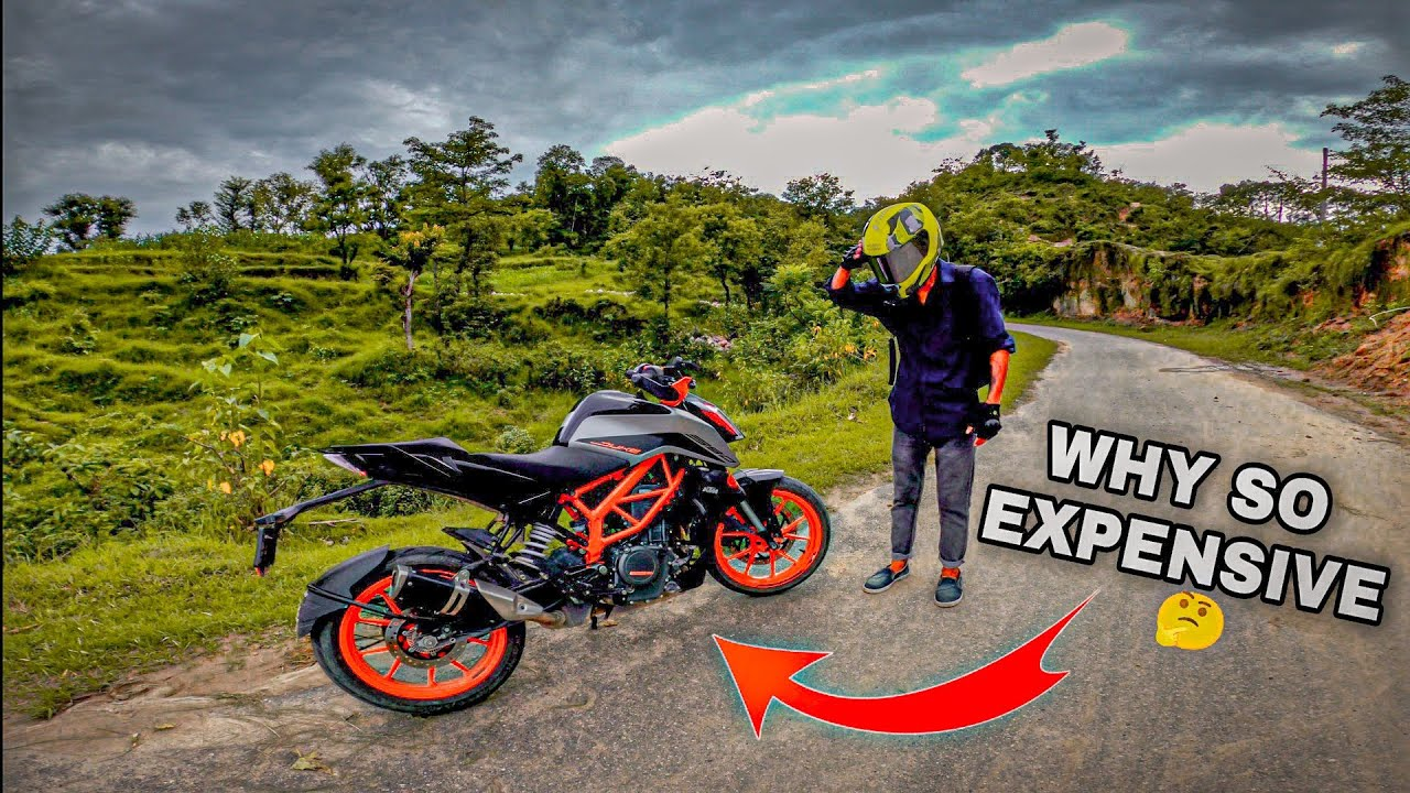 WHY KTM BIKES is so expensive !