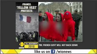 Yellow vests protest return to Paris