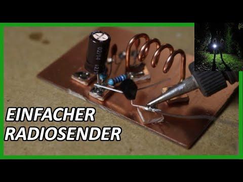 diy ukw radiosender selber bauen youtube. Black Bedroom Furniture Sets. Home Design Ideas