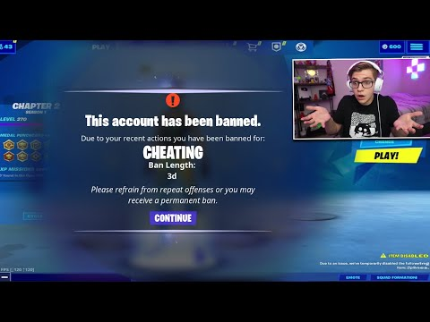 I Tried To Get BANNED On Fortnite After They Made NEW RULES...