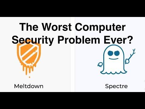 Meltdown & Spectre - The Worst CPU Bug Ever?