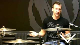 Vater Percussion - Mike Johnston - Lesson 04 - Drumset Warm Up Singles