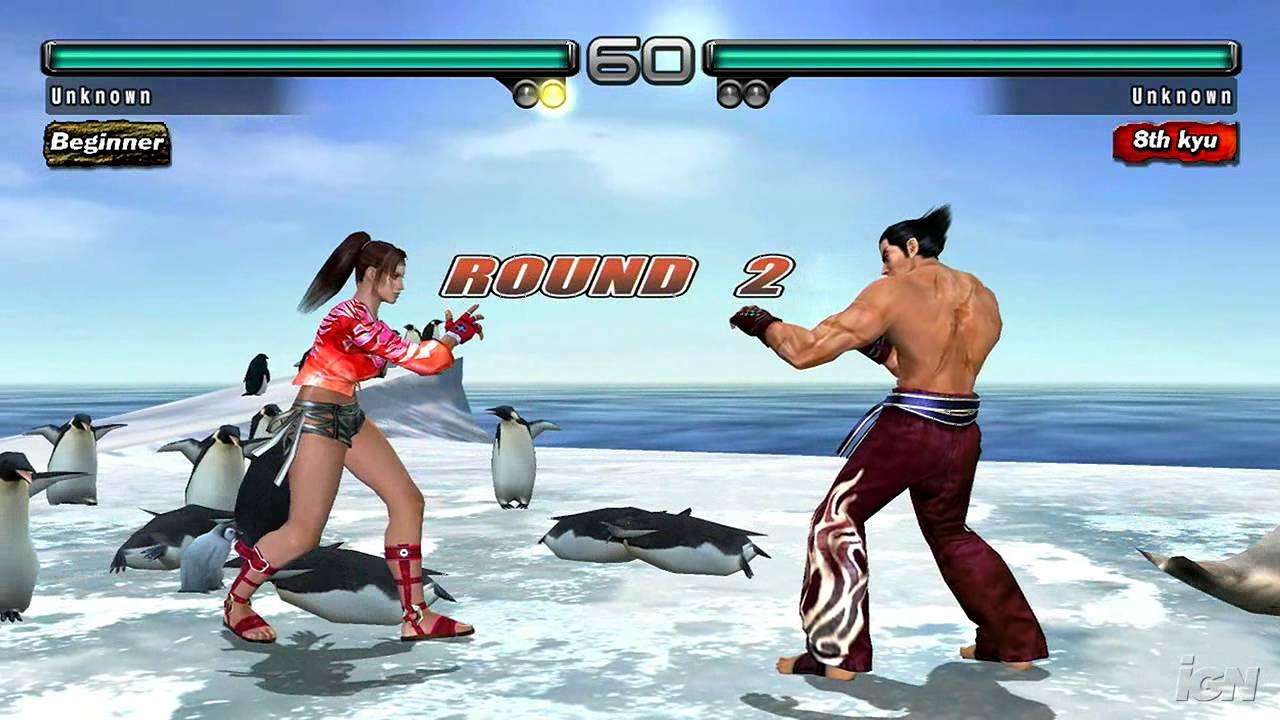 Tekken 5 Dark Resurrection Playstation 3 Gameplay Femme Youtube