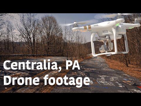 Centralia, Pennsylvania by Drone [DJI Phantom 3]