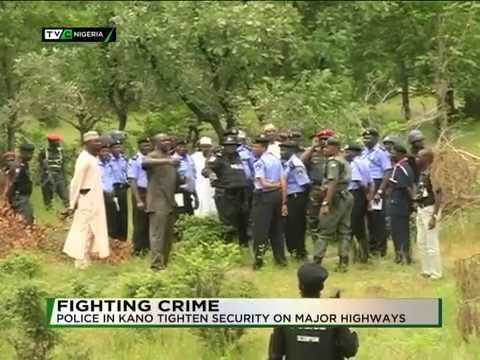 KANO POLICE TIGHTEN SECURITY ON THE HIGHWAYS