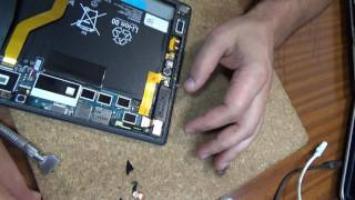 Sony Xperia Z2 Tablet ... LCD replacement