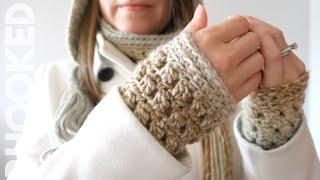 Crochet Gift Set: Colorscape Wrist Warmers