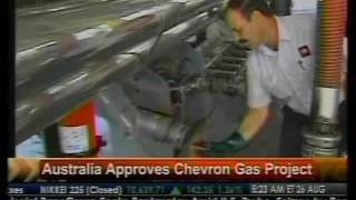 Australia Approves Chevron Gas Project - Bloomberg