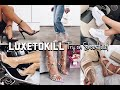 HUGE Affordable Shoe & Accessory Try On Haul   LUXE TO KILL