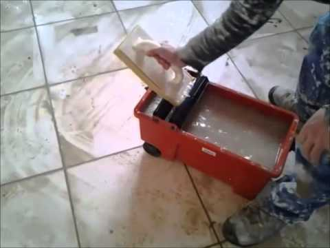 reboucher des joints de carrelage - youtube