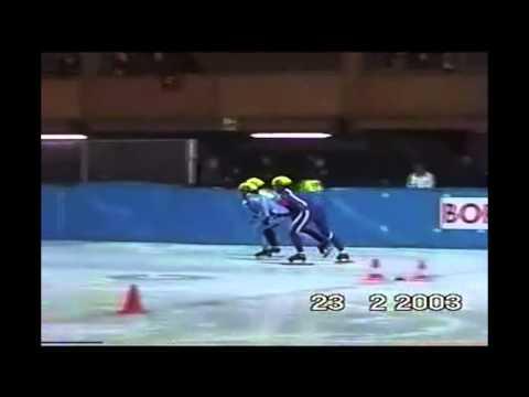 SHORT TRACK CUP BORMIO '03 1000 M SEMIFINAL SENIOR LADIES 1