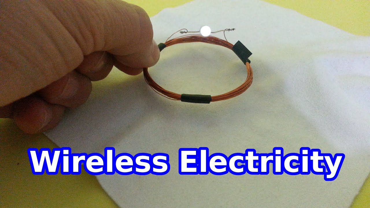 Wireless Electricity: a Simple Experiment - YouTube