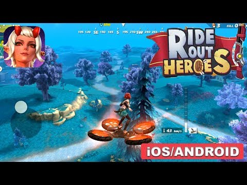 RIDE OUT HEROES - ANDROID / IOS GAMEPLAY