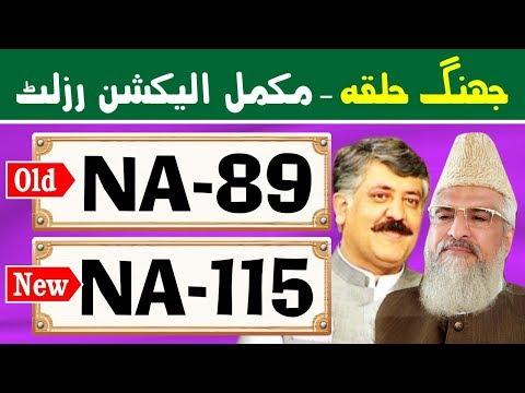 NA-89 (New NA-115) Jhang 2 | Pakistan Election Results | Election Box
