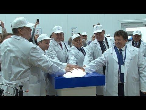 В Невинномысске начал работу первый резидент ТОР – молочный комбинат «Казьминский»