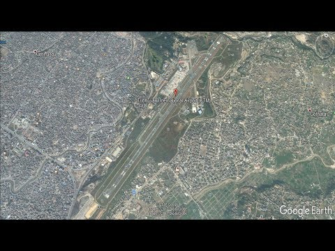 Tribhuvan International Airport Kathmandu Nepal Google Earth
