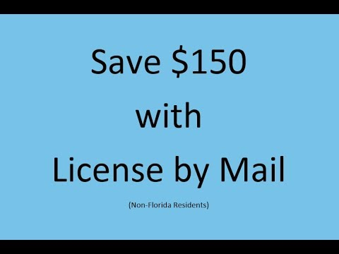 Florida Marriage License By Mail