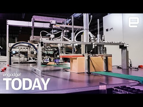 Amazon is testing robots that box up your orders