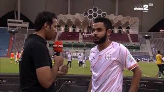 أحمد عطيف : كنا الأفضل في المباراة !