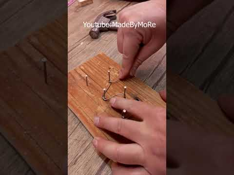 Useful new idea, strong connection for wooden boards #shorts
