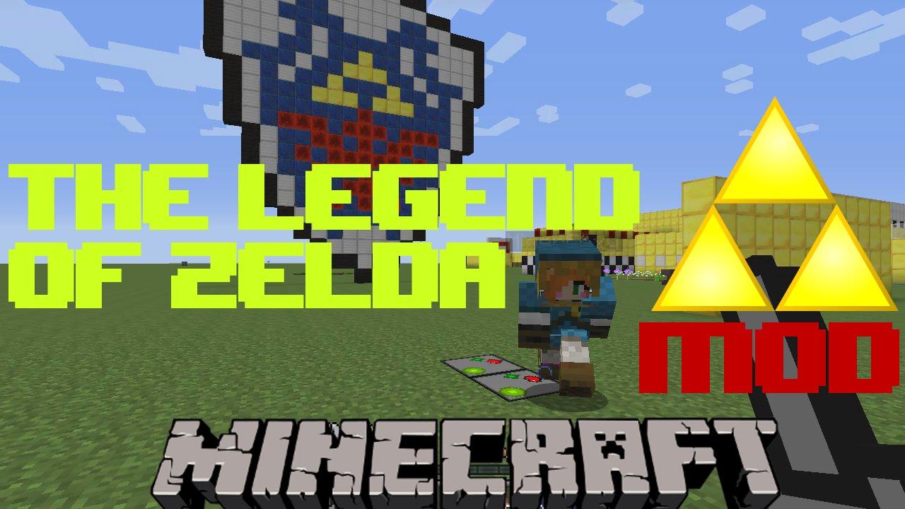 Minecraft THE LEGEND OF ZELDA 1 7 10 Mod SHOWCASE YouTube