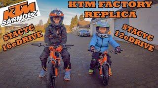 Kinder E-Bike - KTM Factory Replica Stacyc 12eDRIVE & 16eDRIVE