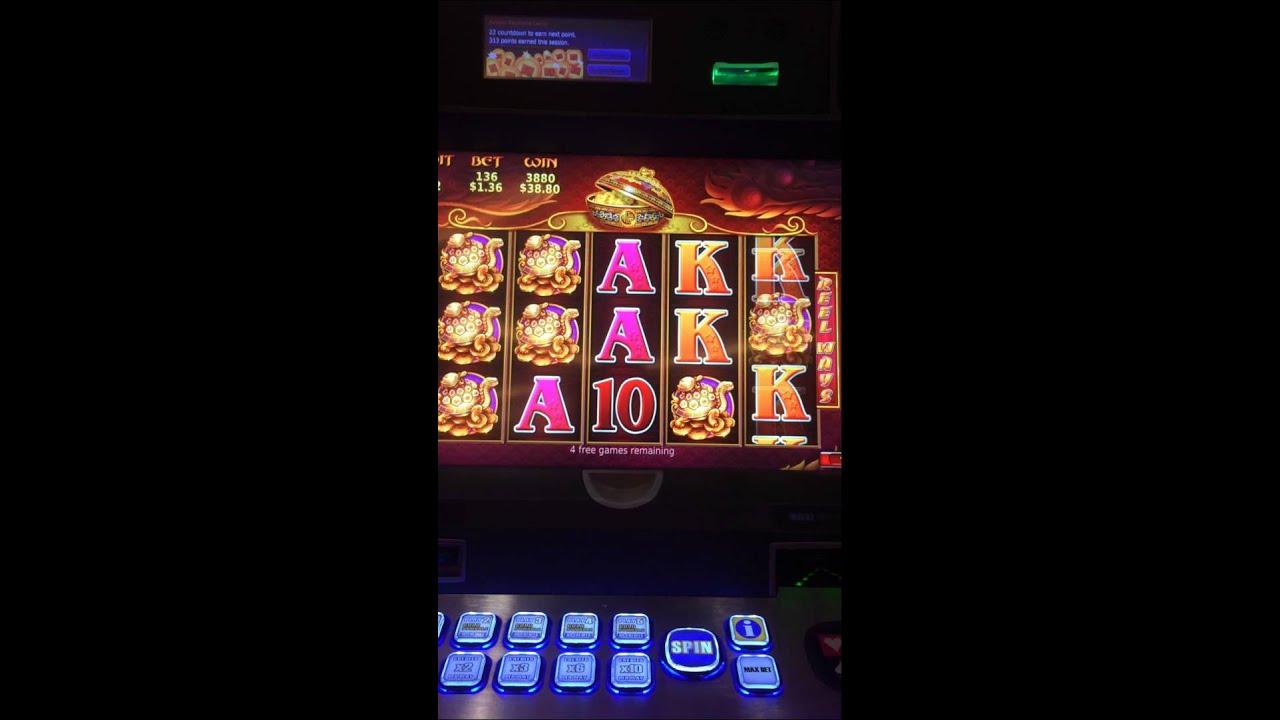 5 treasures slot machine jackpot