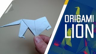 Origami - How to make an Origami Lion