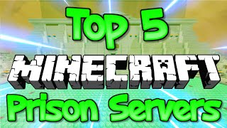 TOP 5 OP MINECRAFT PRISON SERVERS 1.8/1.9/1.10/1.12.2/1.13/1.14 2019 [HD]
