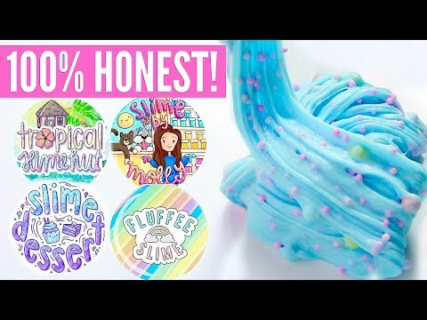 100% HONEST Underrated Instagram Slime Shop Review! Non-Famous US/UK Slime Package Unboxing