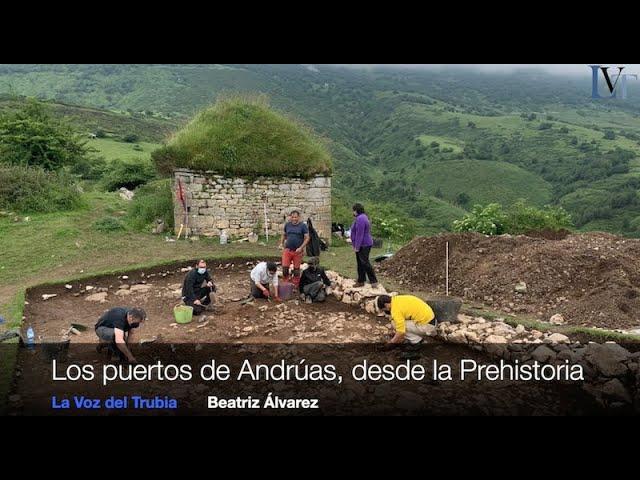 Excavación en Andrúas Grupo Llabor