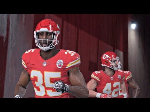 Madden NFL 18 | Monday Night Football Kansas City Chiefs vs Washington Redskins Gameplay
