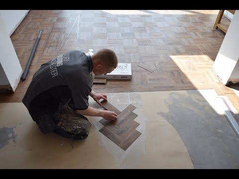 Installation Of Polyflor Parquet Flooring In Didsbury, M20 | Luxury Flooring Manchester