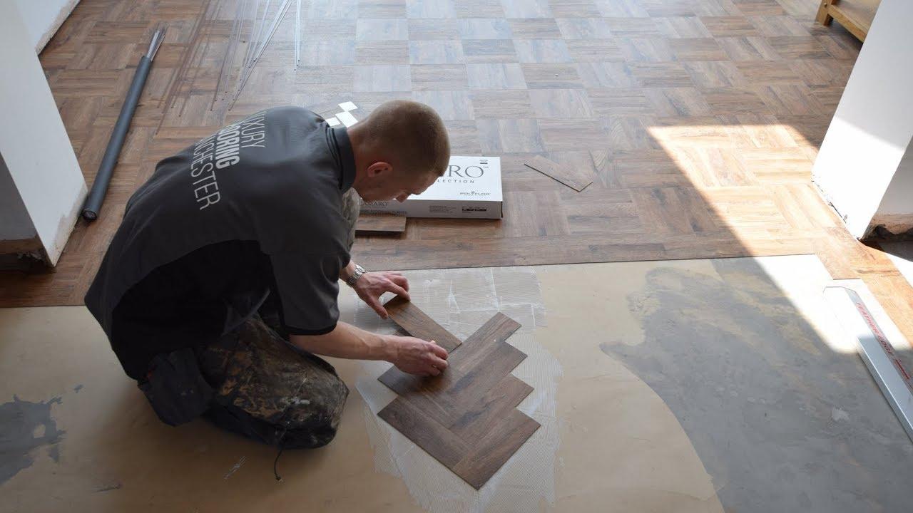 Installing polyflor parquet flooring camaro georgian oak youtube installing polyflor parquet flooring camaro georgian oak dailygadgetfo Gallery